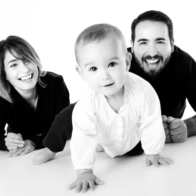forældre med deres baby